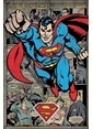 Pyramid International Maxi Poster Superman Comic Montage Renkli